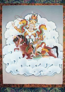Thangkas: Chakrasamvara,Sadhana of mahamudra, Werma
